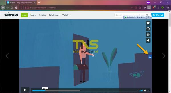 Cách kích hoạt chế độ PiP (xem video trong cửa sổ nổi) trên Firefox 2