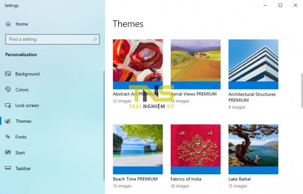 Chia sẻ 5 theme mới cho Windows 10 (tháng 12-2019) 1