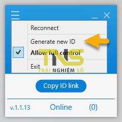 Dùng RScreen điều khiển máy tính từ xa bằng trình duyệt