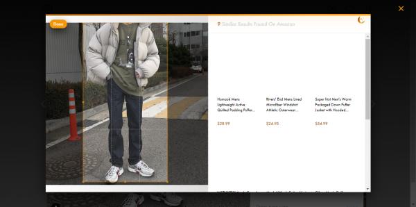 Tìm kiếm quần áo, mỹ phẩm,… trên Amazon khi duyệt hình ảnh Instagram 3