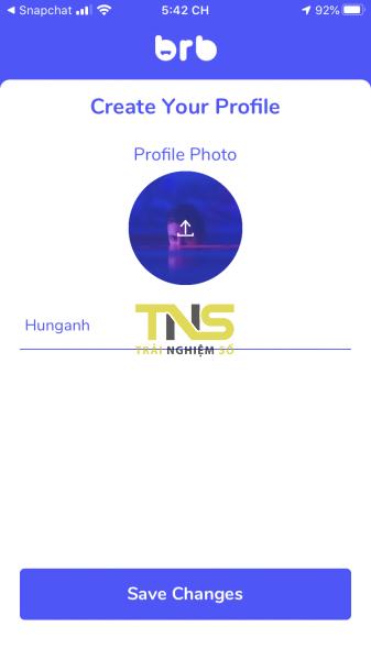 IMG 4422 337x600 - Gửi tin nhắn thoại ngắn với bạn bè trên mạng xã hội Brb