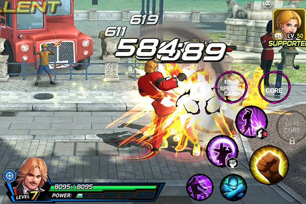 KOF Android 4 - Đánh giá The King of Fighters All Star: Quyền Vương Xuất Thế