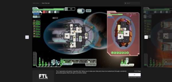 ftl faster than light free epic games store 1 600x286 - Đang miễn phí game chiến thuật Faster Than Light cực hay
