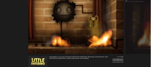 """little inferno free epic games store 1 600x266 - Đang miễn phí game Little Inferno""""độc lạ"""" và hơi hơi hay"""