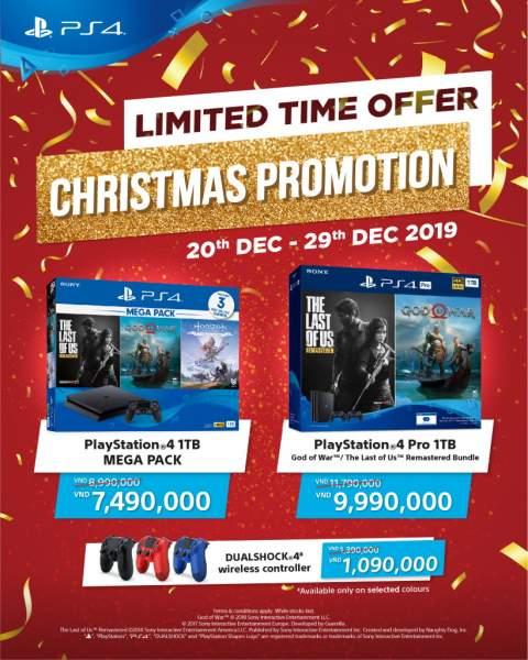 """ps4 xmas sale vn 480x600 - Sony Việt Nam khuyến mãi PS4""""cực sốc"""" nhân dịp Giáng Sinh"""
