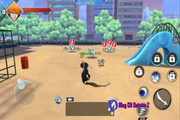 rsz bleach 3 - Đánh giá game mobile Bleach 3D