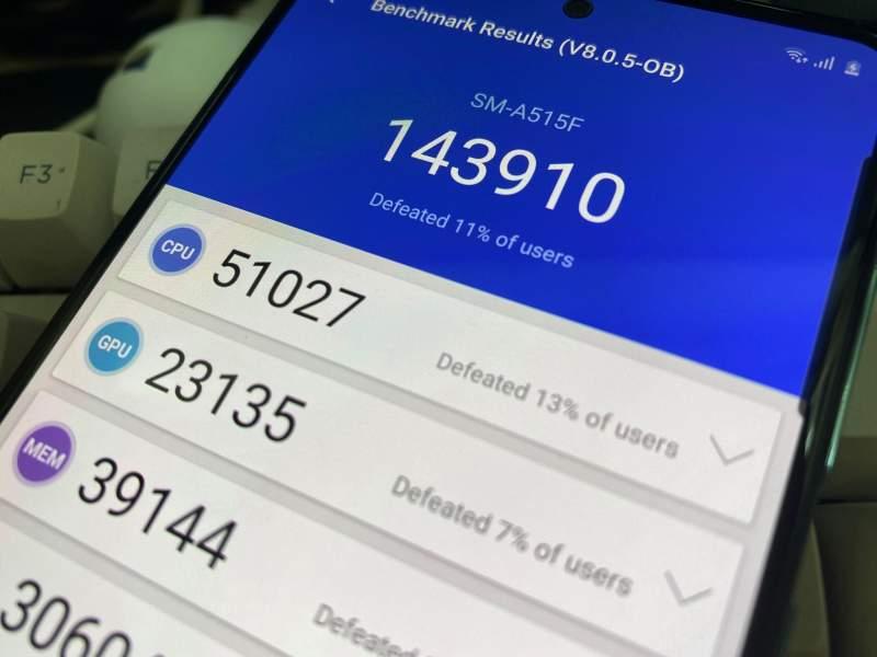 samsung galaxy a51 antutu 800x600 - Samsung Galaxy A51 sử dụng chip gì, điểm Antutu thế nào?