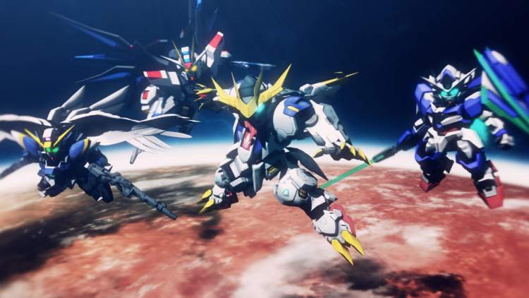 Đánh giá SD Gundam G Generation Cross Rays