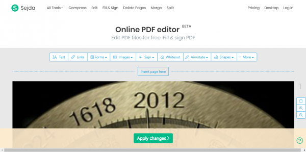 2020 01 01 14 28 48 600x298 - Sejda: A new choice when you need to edit PDF online