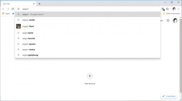 2020 01 02 15 30 02 600x333 - Cách tìm kiếm trên Search box trang New Tab trình duyệt Chrome