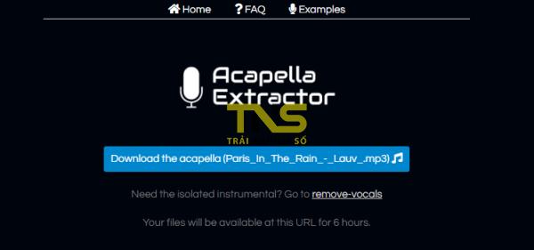 2020 01 06 17 06 48 600x281 - Acapella Extractor: Tách nhạc lấy giọng ca bài hát dễ dàng