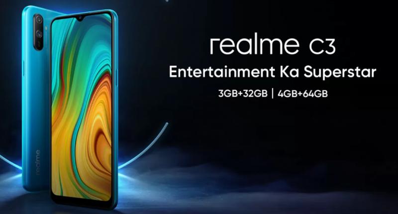 Realme C3 lộ cấu hình chi tiết, ra mắt vào ngày 6 tháng 2