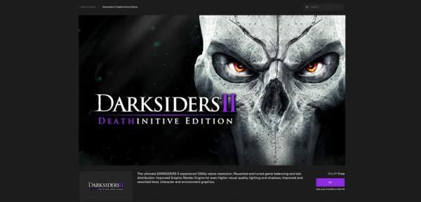darksiders 2 steep darksiders free epic games store 2 600x288 - Đang miễn phí 3 game Steep, Darksiders Warmastered Edition và Darksiders II Deathinitive Edition