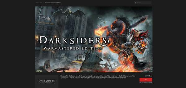 darksiders 2 steep darksiders free epic games store 3 600x285 - Đang miễn phí 3 game Steep, Darksiders Warmastered Edition và Darksiders II Deathinitive Edition