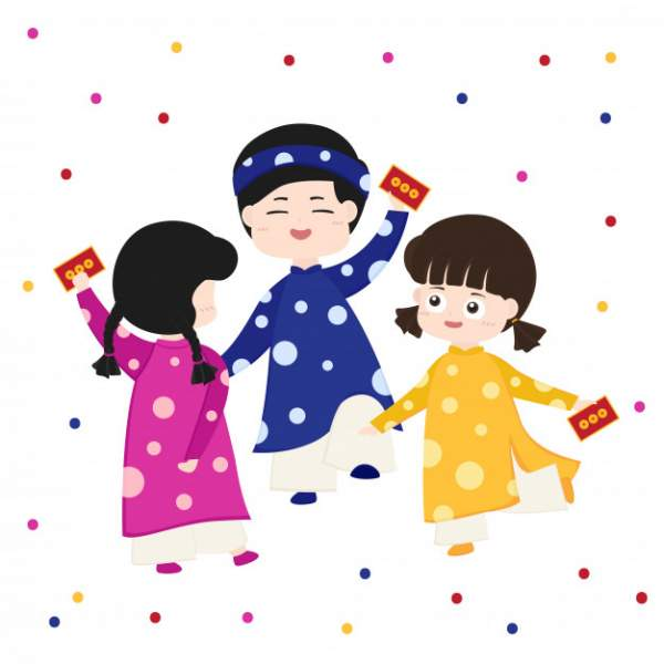 happy lunar new year 2020 4 600x600 - Chia sẻ hình nền Tết Canh Tý 2020 dễ thương cho desktop và điện thoại