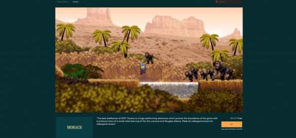"""horace free epic games store 1 600x281 - Đang miễn phí game đi cảnh """"ảo tung chảo"""" Horace rất hay"""