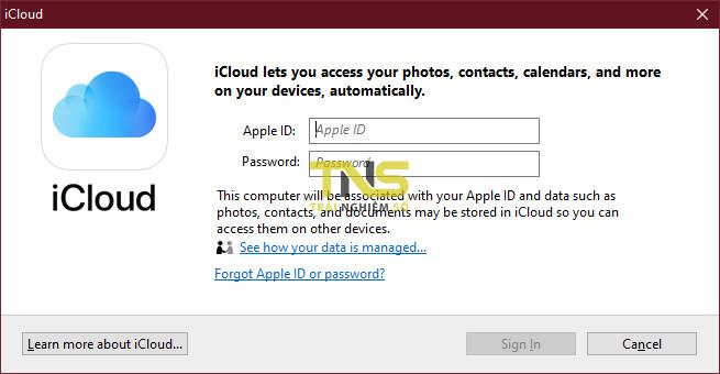 iCloud for Windows: hay nhưng ít ai biết 2