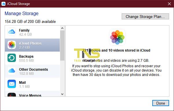 iCloud for Windows: hay nhưng ít ai biết 6