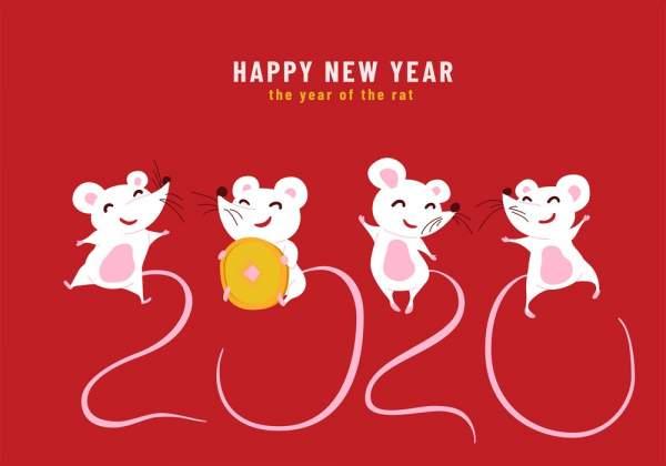 lunar new year 2020 wallpaper 0 600x420 - Chia sẻ hình nền Tết Canh Tý 2020 dễ thương cho desktop và điện thoại