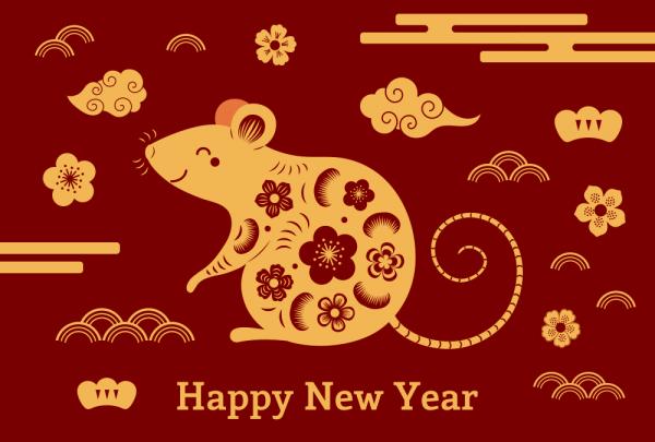 lunar new year 2020 wallpaper 6 600x405 - Chia sẻ hình nền Tết Canh Tý 2020 dễ thương cho desktop và điện thoại