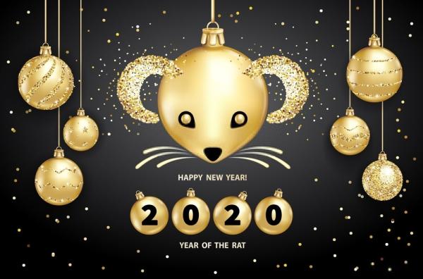 lunar new year 2020 wallpaper 7 600x396 - Chia sẻ hình nền Tết Canh Tý 2020 dễ thương cho desktop và điện thoại