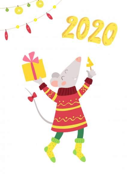 mouse 8 424x600 - Chia sẻ hình nền Tết Canh Tý 2020 dễ thương cho desktop và điện thoại