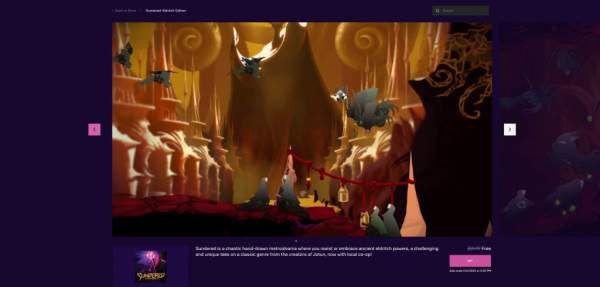 sundered eldritch edition free epic games store 1 600x287 - Đang miễn phí game Sundered: Eldritch Edition rất hay
