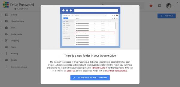 2020 02 05 16 13 15 600x290 - Drive Password: Nơi lưu giữ thông tin tài khoản an toàn cho bạn