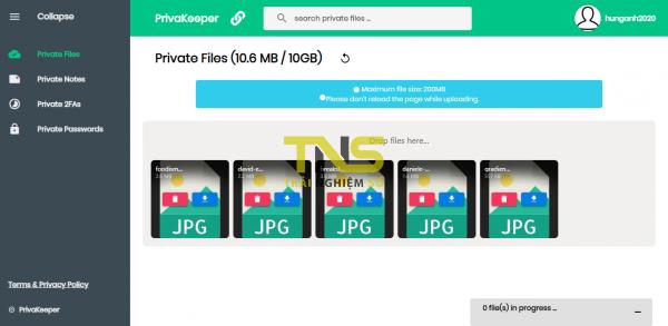 PrivaKeeper: quản lý mật khẩu, file, khóa xác thực, ghi chú an toàn 2