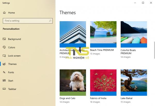 Chào tháng 3-2020 với 5 theme mới cho Windows 10 1