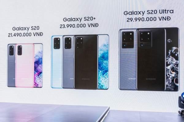 Galaxy S20 chính thức ra mắt tại Việt Nam, giá từ 21.49 triệu đồng 4