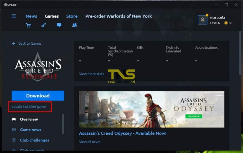 Cách cài đặt Assassin's Creed Syndicate trên Epic Games không bị lỗi 12