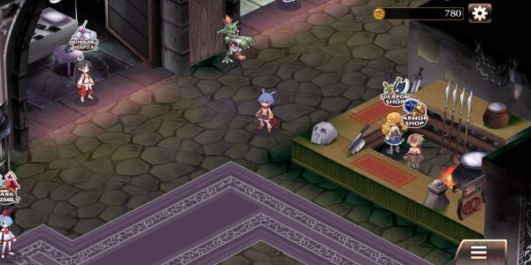 disgaea 1 complete mobile screenshot 1 600x300 - Đánh giá game mobile Disgaea 1 Complete