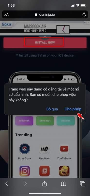 Cách jailbreak iPhone 11: hướng dẫn chi tiết không cần máy tính 1