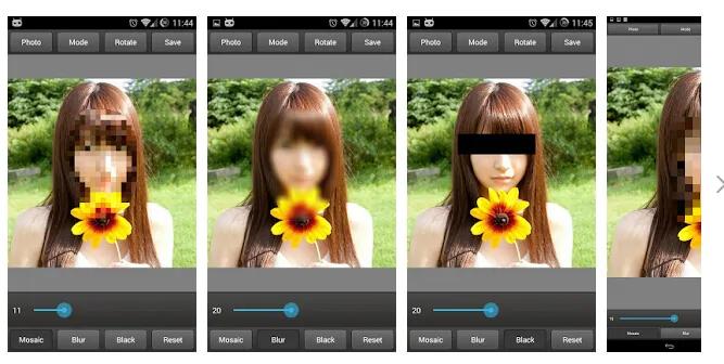 Top phần mềm che mặt ảnh hay video trên iOS và Android 5