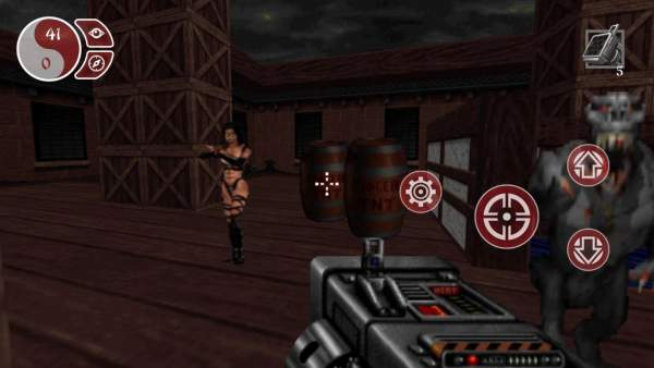 shadow warrior classic redux android screenshot 2 600x338 - Đánh giá game mobile Shadow Warrior Classic Redux