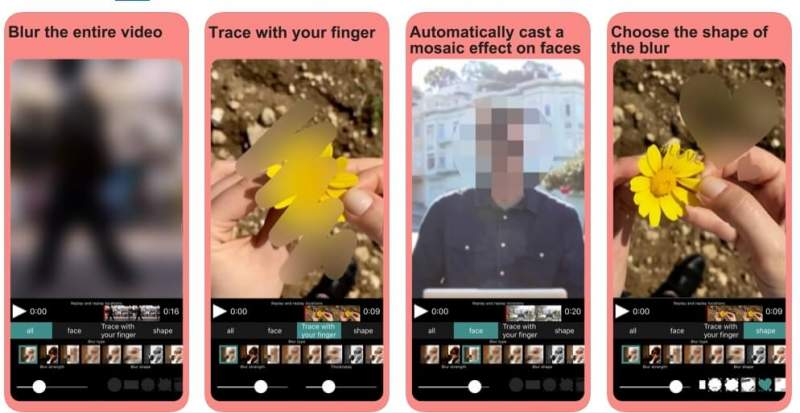 Top phần mềm che mặt ảnh hay video trên iOS và Android 1