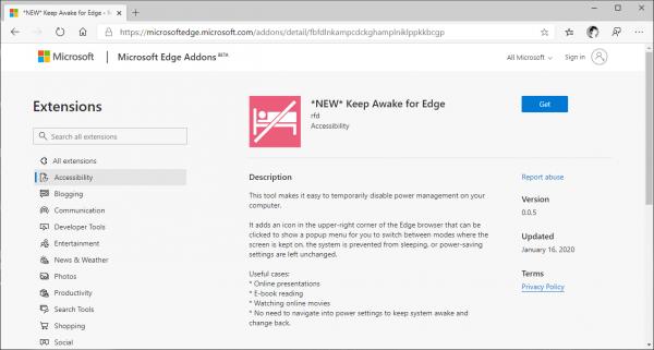 2020 03 01 15 44 44 600x321 - Cách ít người biết để ngăn màn hình máy tính tắt bằng... Microsoft Edge