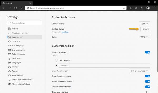 2020 03 07 16 01 38 600x353 - Cách cài đặt theme của Chrome Web Store lên Microsoft Edge Chromium