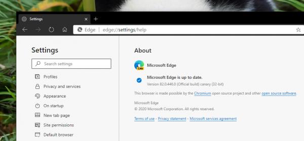 2020 03 07 16 02 01 600x279 - Cách cài đặt theme của Chrome Web Store lên Microsoft Edge Chromium