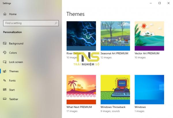 Thêm 5 theme tháng 3-2020 cho Windows 10 1