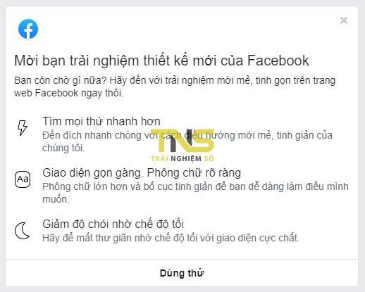 Cách tắt giao diện mới của Facebook 1