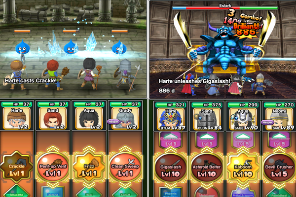 DragonQuestoftheStars Android 001 - Đánh giá game mobile Dragon Quest of the Stars