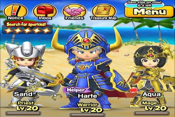 DragonquestoftheStars Android 003 - Đánh giá game mobile Dragon Quest of the Stars