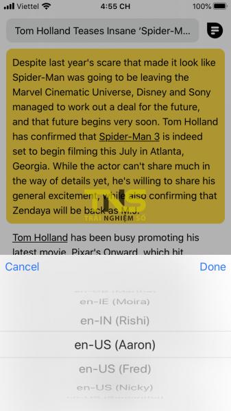 IMG 5395 337x600 - Mẹo hay là luyện nghe tiếng Anh trong chế độ đọc trên iPhone