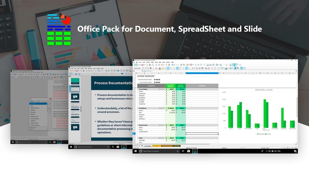 Office Pack - Tổng hợp 6 ứng dụng UWP chọn lọc cho Windows 10 nửa đầu tháng 4/2020