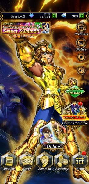 Screenshot 20200311 155745 SAINT SEIYA SSS 292x600 - Đánh giá game Saint Seiya: Shining Soldiers
