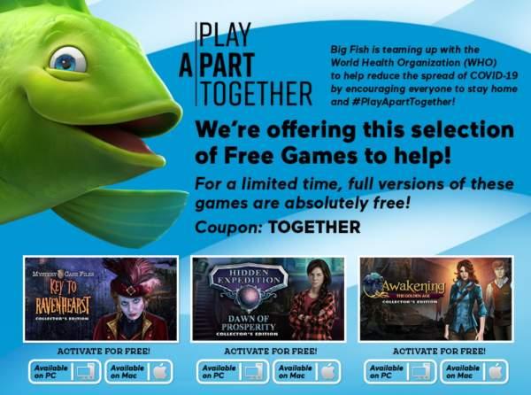 Đang miễn phí 8 game tìm vật ẩn của Big Fish Games
