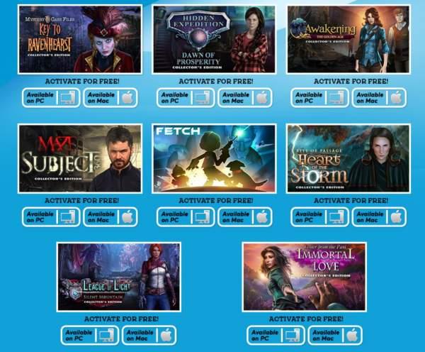 big fish games collection free 2 600x496 - Big Fish Games vẫn đang miễn phí 8 game tìm vật ẩn rất hay