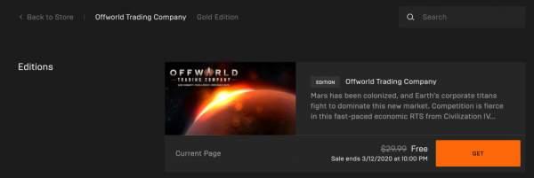 gonner offworld trading company free epic games store 1 600x201 - Đang miễn phí 2 game GoNNER và Offworld Trading Company rất hay